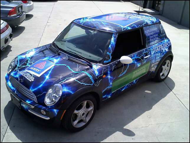 Mini Cooper Wrap back