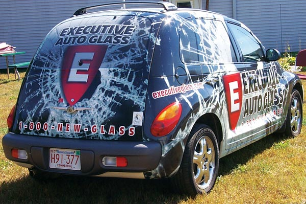 Complete PT Cruiser Vehicle Wrap