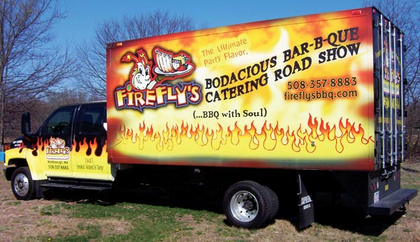 Box Delivery Truck vinyl wrap